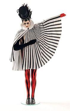 costume du Baron, Saltimboncan, cirque du soleil, 1992 Illusion d'optique des motifs
