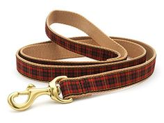 Up Country NEW Fleet Street Plaid Lead *** Be sure to check out this helpful article. #DogLeashes
