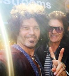Yours truly and my pal & fave guitar player And out of this world song writer / singer  Doyle Bramhall II