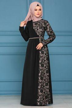 Ideas Party Fashion Style Robes For 2019 Batik Fashion, Abaya Fashion, Fashion Dresses, Mode Abaya, Mode Hijab, Islamic Fashion, Muslim Fashion, Muslim Long Dress, Hijab Dress Party