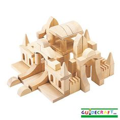 Guidecraft G6100 Tabletop Building Blocks