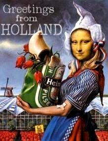 Mona goes Dutch | Bij het opruimen van m'n computer kwam ik … | Flickr Best Funny Pictures, Cool Pictures, Pin Up, Gravure Illustration, Mona Lisa Parody, Dutch People, Going Dutch, Monalisa, Just For Fun