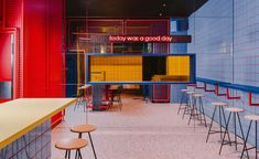 In its latest Wroclaw project – a true urban bar – local BUCK.STUDIO created a full immersion into the American street-life culture of the Street Culture, Pop Culture, Garage House, Urban Bar, Pop Art, Nathalie Du Pasquier, Retail Interior Design, Interior Designing, Modern Interior