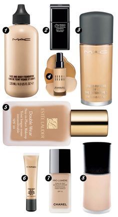Best Foundation for flash photography (apart from the Estée Lauder....it DOES NOT photograph well). MAC face & body is amazing and is used in so many photoshoots