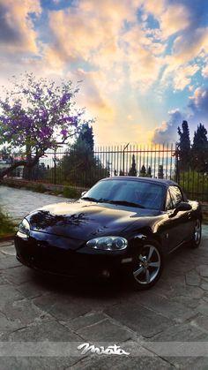 Miata Sunset @ Athens-Thisio #TopMiata #mx5 #nbfl