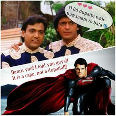 Why #Superman does not visit #Desis more often... the truth revealed. #desi…