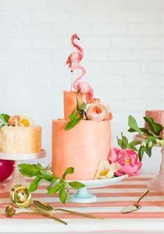 """Color Me Pink"" bridal shower   B-Inspired   BHLDN"