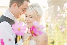 Pieter & Leandri   The Moon and Sixpence Wedding » Louise Vorster Photography- Pretty Cosmos Flower
