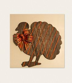 Gobble, Gobble!! Who is ready for that fantastic Turkey dinner! #thanksgiving #fall #autumn Acrylic Paint Sealer, Tom Turkey, Picture Holders, Ceramic Flower Pots, Custom Wood Signs, Wood Slats, Fall Decor, Hand Painted, Painting