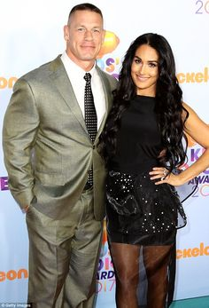 Host with the most! John Cena and girlfriend Nikki Bella were among the first to arrive at the Kid's Choice Awards in Los Angeles on Saturday. The 39-year-old talent was hosting the event