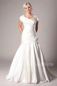 Morrison - Modest Wedding Dress Front