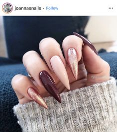 Never was a huge fan of long Stiletto nails; I don't know how anyone can function with their nails that long. It's just not practical! Trendy Nails, Cute Nails, My Nails, Long Nail Designs, Acrylic Nail Designs, Art Designs, Design Ideas, Coffin Nails Long, Long Nails