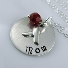 Mom Diabetes Awareness Necklace