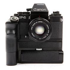 Canon F1, 35mm, Professional SLR. Still have it, still love it.....
