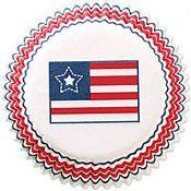 Standard Patriotic Baking Cups 75ct