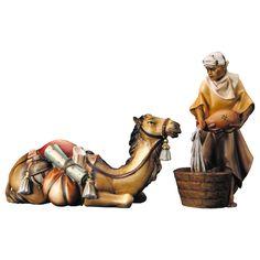 Lying Camel Group — Navidad Nativities, Inc. Nativity, Lion Sculpture, Statue, Animals, Fictional Characters, Beautiful, Art, Google, Xmas