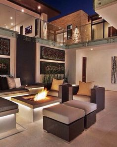 Wowza! Love this outdoor living space.