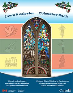Aboriginal arts, culture & heritage - Kids' Stop - Classroom Resources - Colouring Book: Stained Glass Window in Parliament Commemorating the Legacy of Indian Residential Schools Aboriginal Children, Aboriginal People, Aboriginal Art, Indian Residential Schools, Aboriginal Language, Indigenous Education, Government Of Canada, Canadian History, O Canada