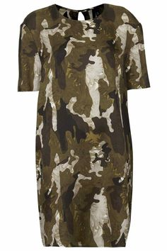 Camo dress from Top Shop