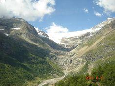 Bernina Express: St. Moritz Switzerland to Turin, Italy