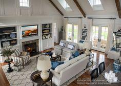 Tulu Trellis Rug, Natural/Black - Ethan Allen - my fave rug, $2,319.  :-(