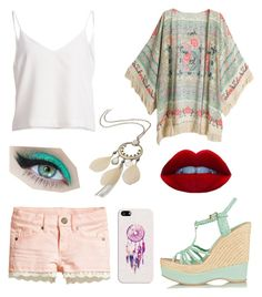 Untitled #466 by sara-scagnoli on Polyvore featuring moda, H&M, Paloma Barceló, maurices and Casetify