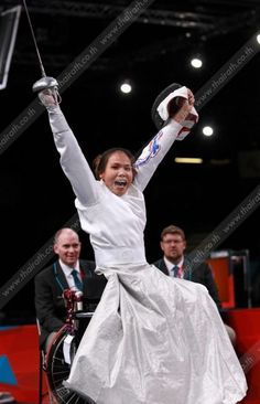 Paralympics woman fencing gold medal Thailand !!!