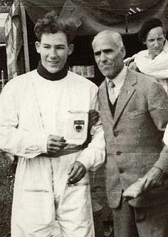 Stirling Moss e Tazio Nuvolari