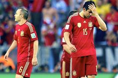 Spain suffer early World Cup exit