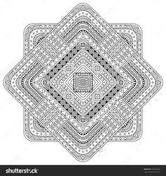 Mandala. Vintage Decorative Elements. Oriental Pattern, Vector Illustration. Islam, Arabic, Indian, Turkish, Pakistan, Chinese, Ottoman Motifs - 347044322 : Shutterstock