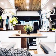 Check out this Sprinter conversion...  Van: @sprint2explore via @sprintercampervans