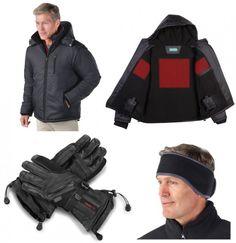 Best Heated Clothing: Hammacher Schlemmer Heated Winter Outfit