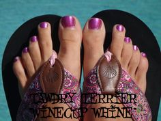 """@TawdryTerrier """"Winecup Whine"""" (SOLD OUT) - check out our polishes at http://www.etsy.com/shop/TawdryTerrier #nailpolish #indienailpolish #tawdryterrier"""
