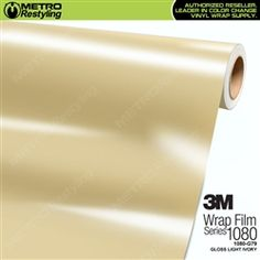 *3M 1080 Scotchprint Gloss Light Ivory Vinyl Wrap | G79* Dual cast film specifically designed for vehicle application to provide dimensional stability and durability without the need for an over laminate. @metrorestyling #3M #3M1080 #1080 #MetroRestyling #KingsOfVinyl #EliteWrappers #WrapOverPaint #WrapSupplier #VinylSupplier #PaintIsDead
