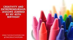 Creativity and #entrepreneurship: lessons learned