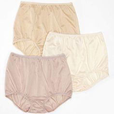 Underscore® Nylon Underwear, 3 Pack found at Nylon Underwear, Bikini Underwear, Silk Knickers, Vintage Outfits, Vintage Fashion, Lingerie Drawer, Pretty Lingerie, Gym Shorts Womens, Style Inspiration