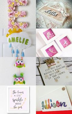 Its For Her Bedroom! by Zoe Rawcliffe on Etsy--Pinned with TreasuryPin.com