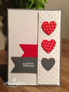 Hearts a Flutter - stampin up
