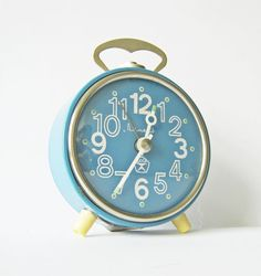 another vintage alarm clock, I really do love this one!