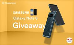Win A Galaxy Note 8 With Caseology & AndroidHeadlines – International Giveaway #Android #Google #news