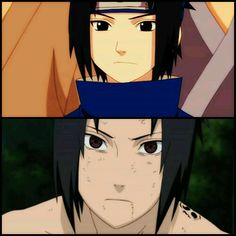 Different Situations, Same Beautiful Eyes - Sasuke