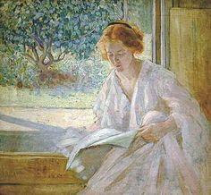 Richard Miller, Καλοκαιρινό πρωινό. 1910. Ιδιωτική Συλλογή.
