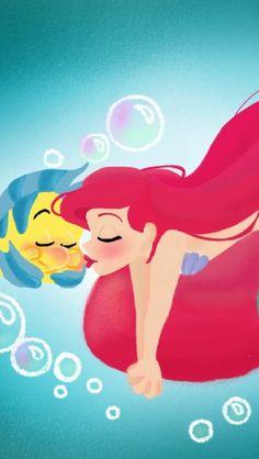 Rocio's Belen Ferreiro Art Princess-Beauty-Case Disney Ariel Ariel Disney, Princesa Disney, Disney Little Mermaids, Disney Nerd, Disney Fan Art, Cute Disney, Disney Magic, Walt Disney, Disney Princesses