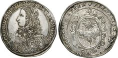 NumisBids: Numismatica Varesi s.a.s. Auction 65, Lot 416 : MANTOVA - CARLO II GONZAGA/NEVERS (1647-1665) Ducatone 1649 detto...