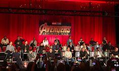 """Our heroes assemble. #Avengers #InfinityWar Press Conference"" (https://twitter.com/asadayaz/status/988156349128163328?s=19 ) #TomHiddleston #Loki"