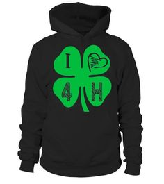 4H Apparel For 4-H Teammates - I Love 4-H Clover Heart Shirt  #tshirts #fashion(title) #tshirtsworldcup #fashionworldcup2018