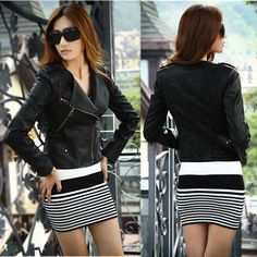 Get brand new sexy #LeatherJacket Coats in a speedy and effectual mode.