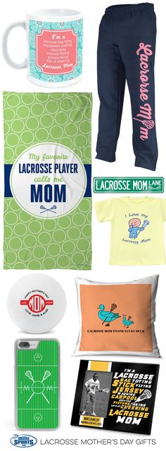 Treat your favorite lacrosse mom to a Mother's Day gift that she will love and cherish! With our wide selection of gifts, this Mother's Day will be the greatest yet!