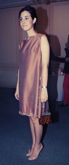 Look da Vic: Vestido vintage. Vic Ceridono   Dia de Beauté