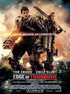 Edge Of Tomorrow. Un peu d'auto-dérision pour Tom Cruise et un bon film, qui se laisse voir avec plaisir et sans trop de prétention scénaristique :)